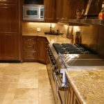 beige kitchen counters